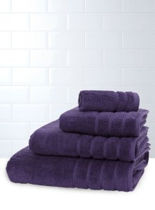 BHS pruple towel bale