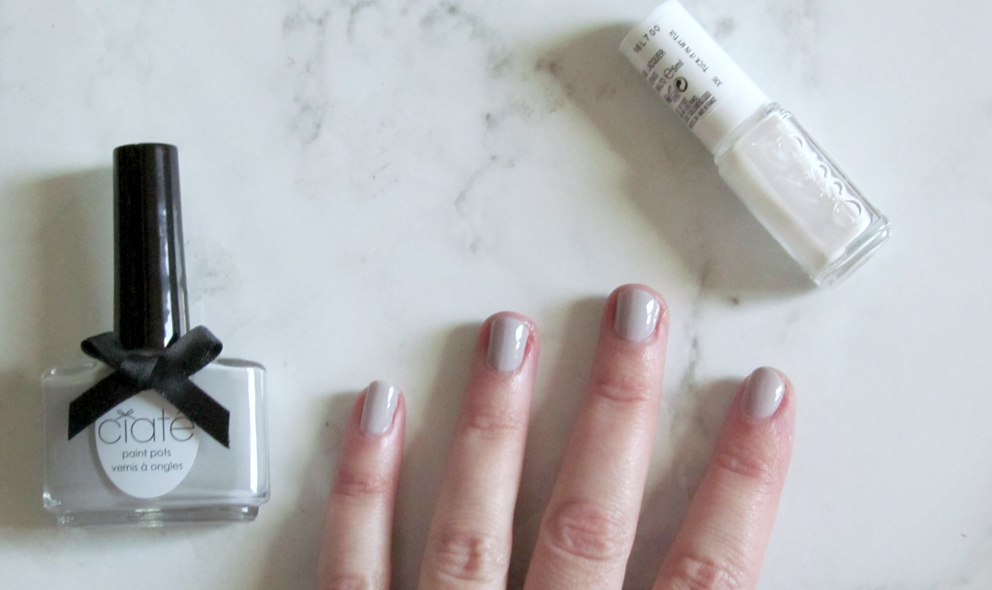Spring nails – Ciaté Cream Soda