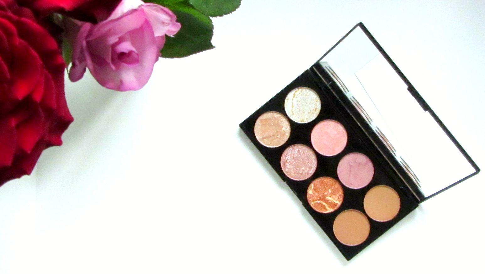 Makeup Revolution Blush Palette in Golden Sugar