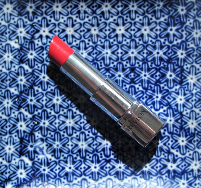 Revlon Poinsettia lipstick