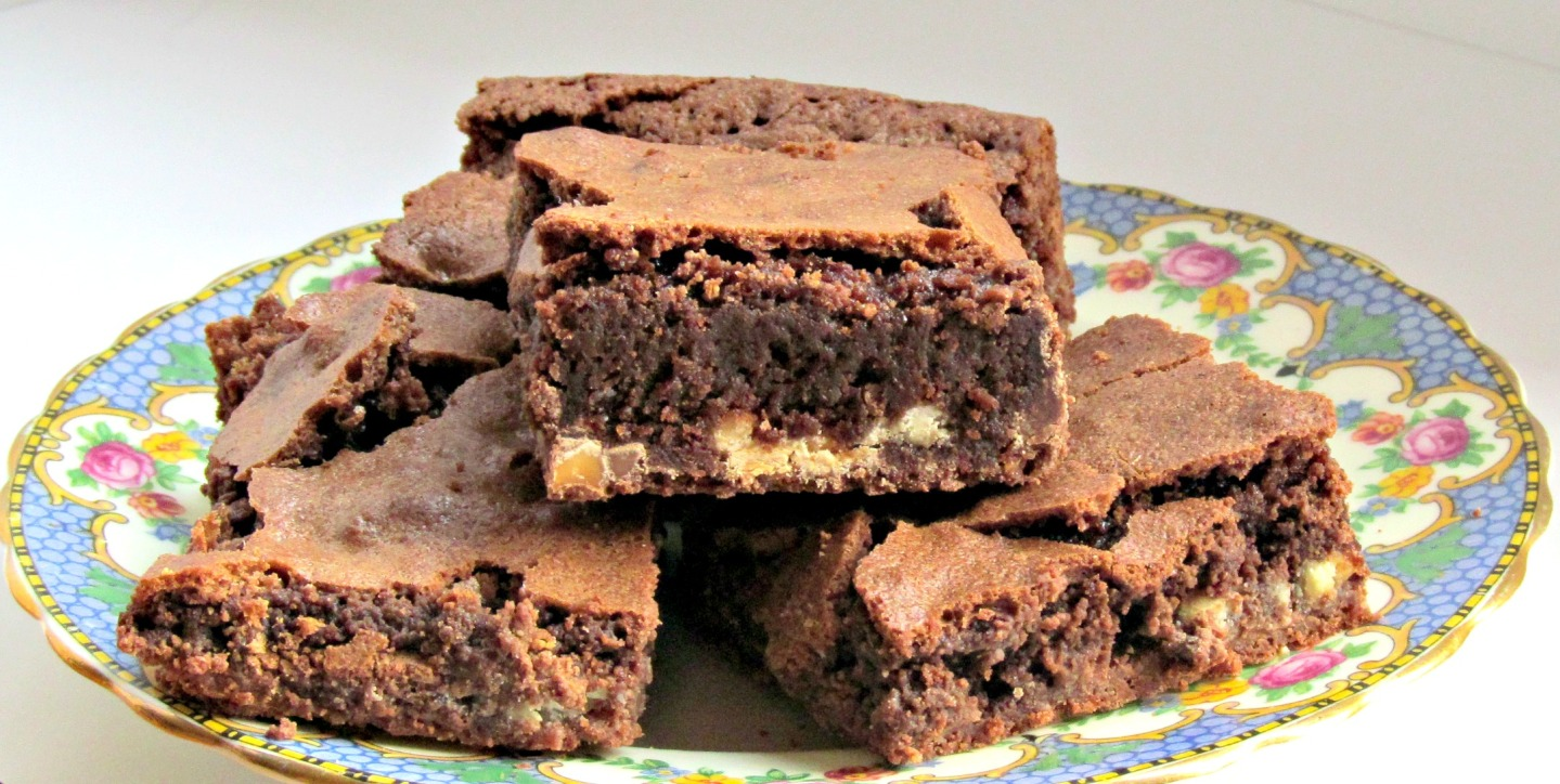 Brownie close-up