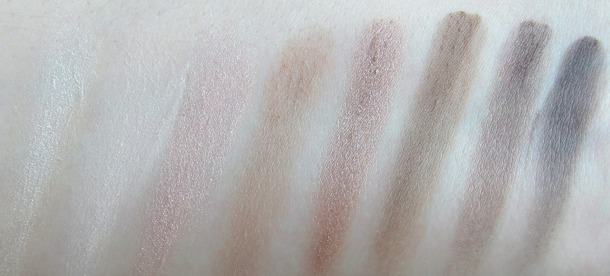 Max Factor Cappuccino Nudes swatches