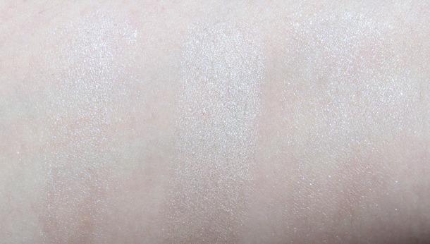 perfect cream highterers for pale skin Nars Illuminator Copacabana Boots No7 Instant Radiance Highlighter Godh Lumi Drops Vanilla swatches